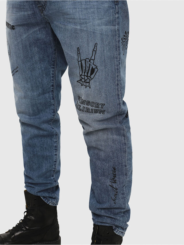 Diesel - Mharky 0094D, Blu medio - Jeans - Image 5