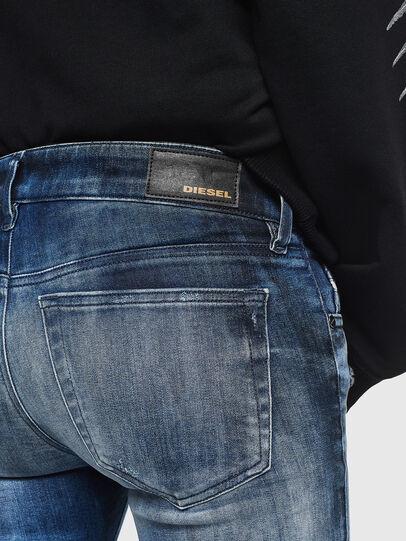 Diesel - Slandy Low 0095C, Blu medio - Jeans - Image 4