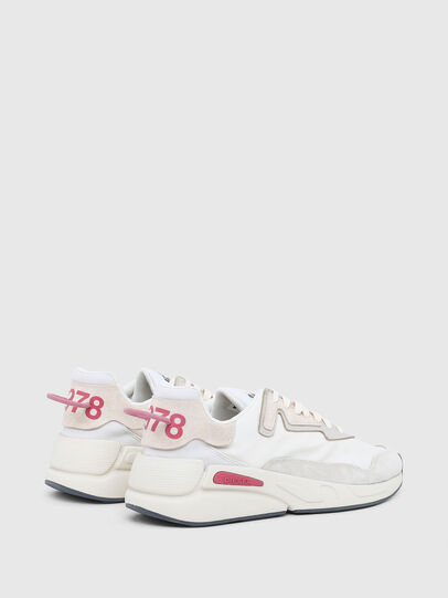 Diesel - S-SERENDIPITY LC W, Bianco/Rosa - Sneakers - Image 3