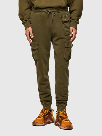 Diesel - P-TARPOCK, Verde Militare - Pantaloni - Image 1