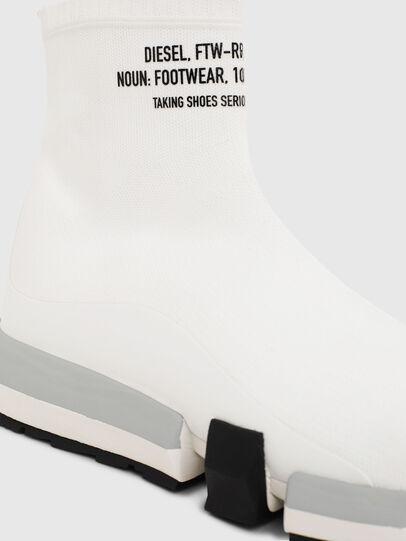 Diesel - H-PADOLA HIGH SOCK, Bianco - Sneakers - Image 5