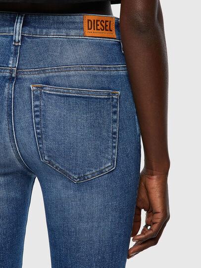 Diesel - Slandy High 009QS, Blu Chiaro - Jeans - Image 3