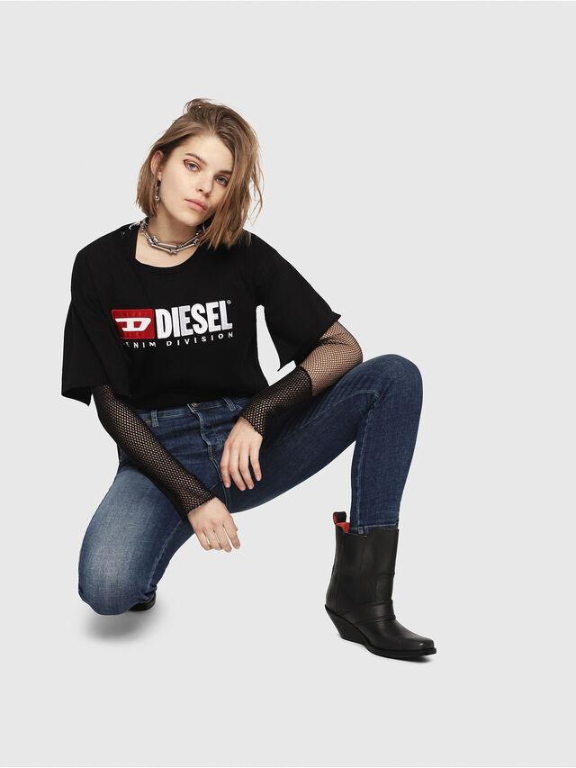 Diesel - Babhila 081AI, Blu Scuro - Jeans - Image 4