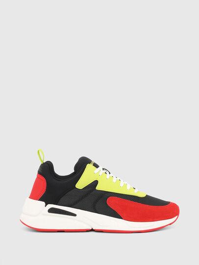 Diesel - S-SERENDIPITY LOW CU, Nero/Rosso - Sneakers - Image 1