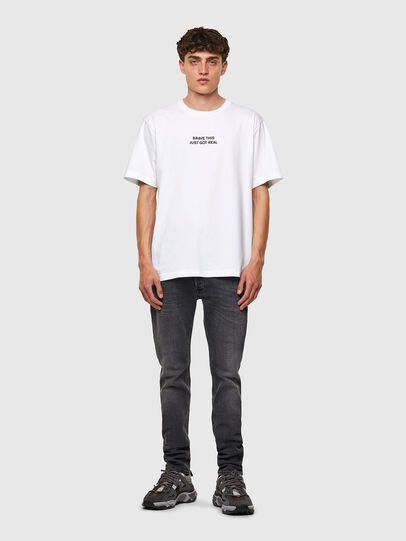 Diesel - T-TUBOLAR-B3, Bianco - T-Shirts - Image 4