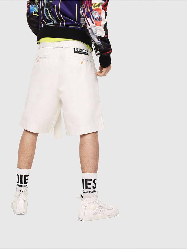 Diesel - P-TOSHI-SHORT, Bianco - Shorts - Image 2