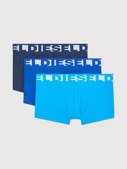 Diesel - UMBX-SHAWNTHREEPACK, Blu/Bianco - Boxer stretch - Image 1