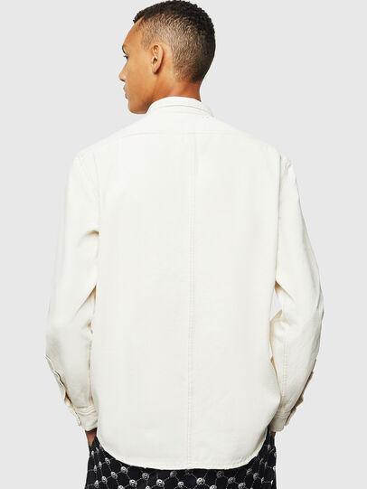 Diesel - D-BANDY-B, Bianco - Camicie in Denim - Image 2