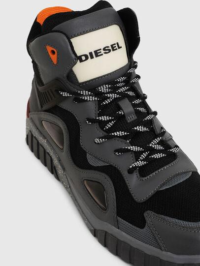 Diesel - S-RUA SP, Grigio scuro - Sneakers - Image 5