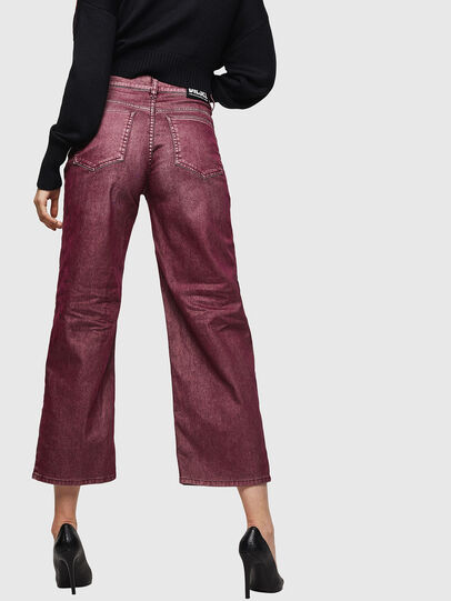 Diesel - Widee 0091T, Borgogna - Jeans - Image 2