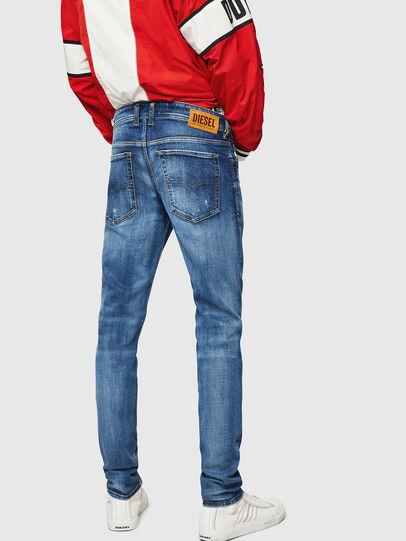 Diesel - Sleenker 069FY, Blu medio - Jeans - Image 2