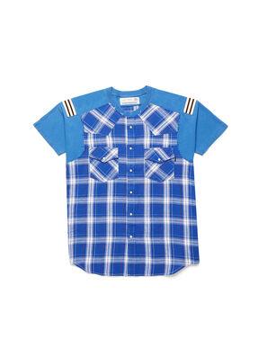 D-WESTERNSPORT, Blu Chiaro - T-Shirts