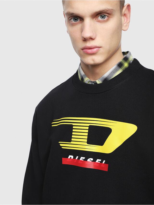 Diesel - S-GIR-Y4, Nero - Felpe - Image 3