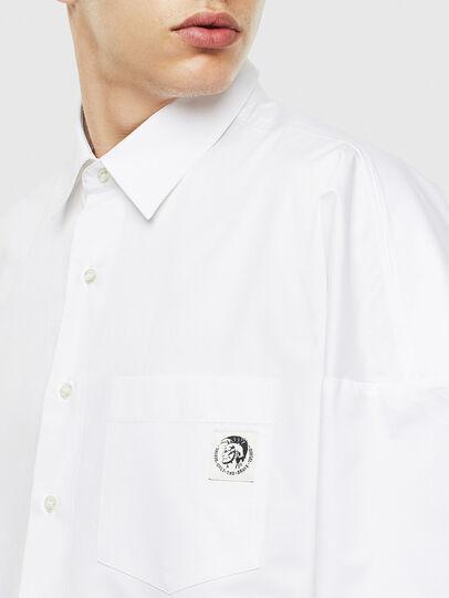 Diesel - S-LOOMY, Bianco - Camicie - Image 3