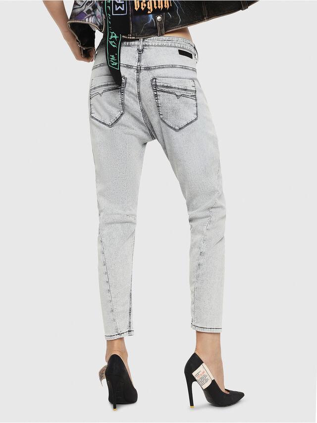 Diesel - Fayza JoggJeans 069FE, Blu Chiaro - Jeans - Image 2