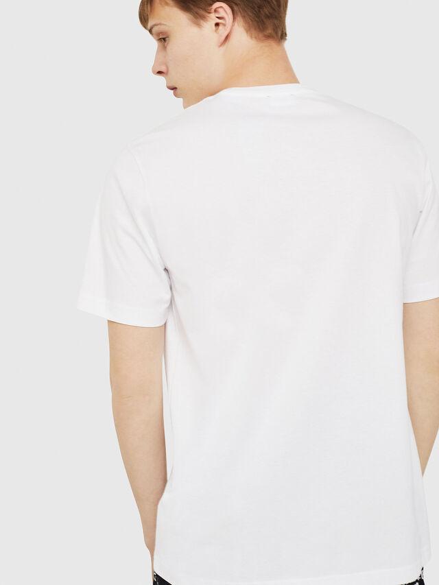 Diesel - T-JUST-Y16, Bianco - T-Shirts - Image 2