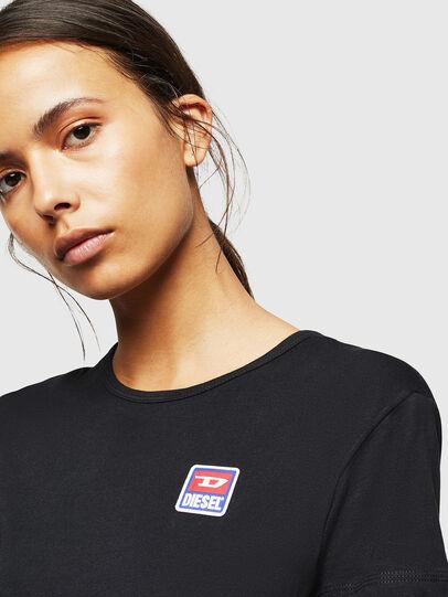 Diesel - UFLT-ISOLLA, Nero - T-Shirts - Image 3