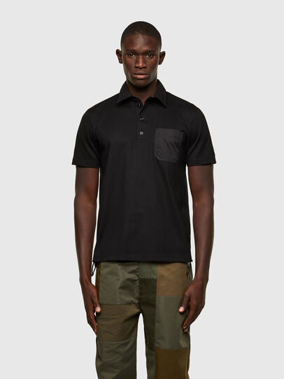 Diesel - T-ORACLE, Nero - Polo - Image 1