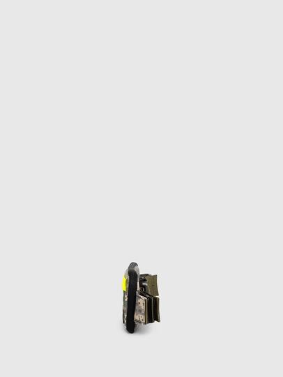 Diesel - BELT RUBBER CASE BIG, Verde Camo - Portafogli Continental - Image 3