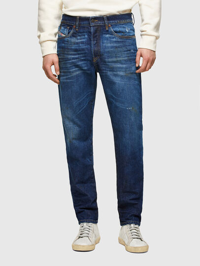 Diesel - D-Fining 009NG, Blu Scuro - Jeans - Image 1
