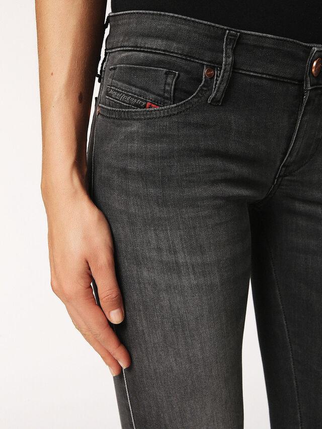 SKINZEE-LOW-ZIP 0688F, Grigio Jeans