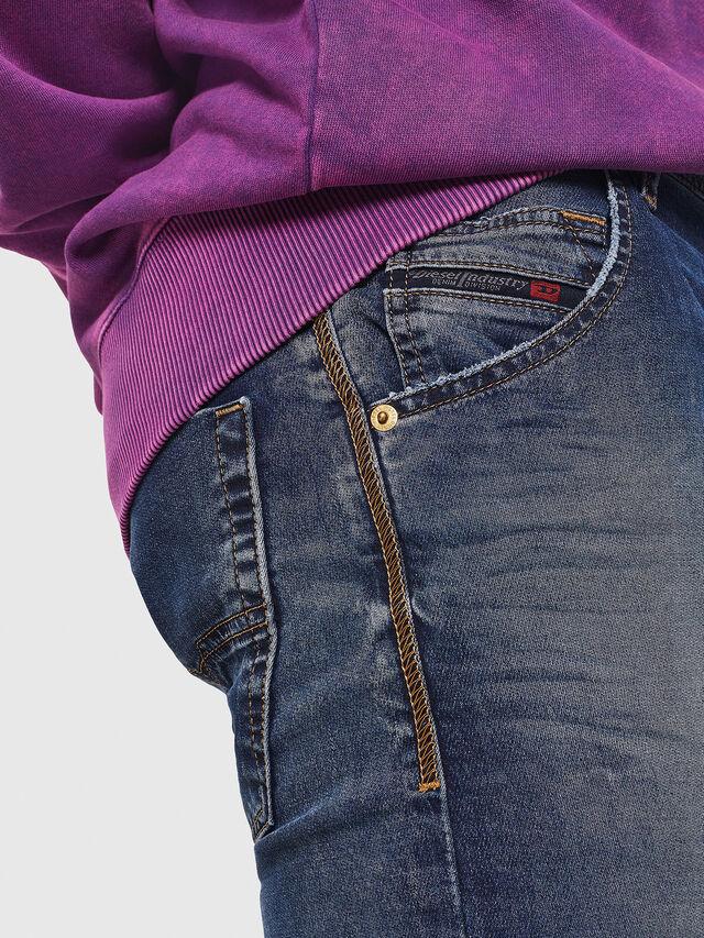 Diesel - Krooley JoggJeans 069FG, Blu medio - Jeans - Image 3