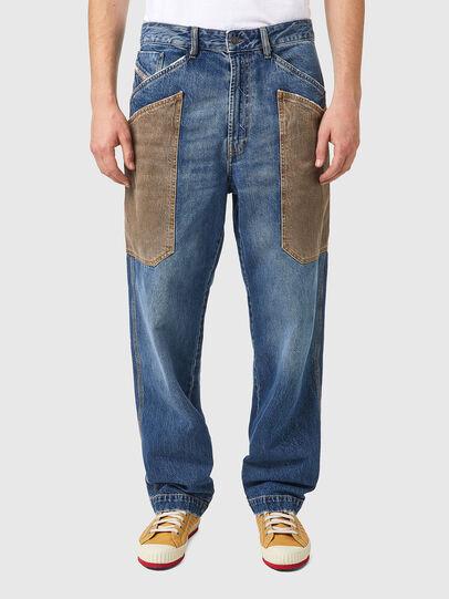 Diesel - D-Franky 0GCAY, Blu medio - Jeans - Image 1