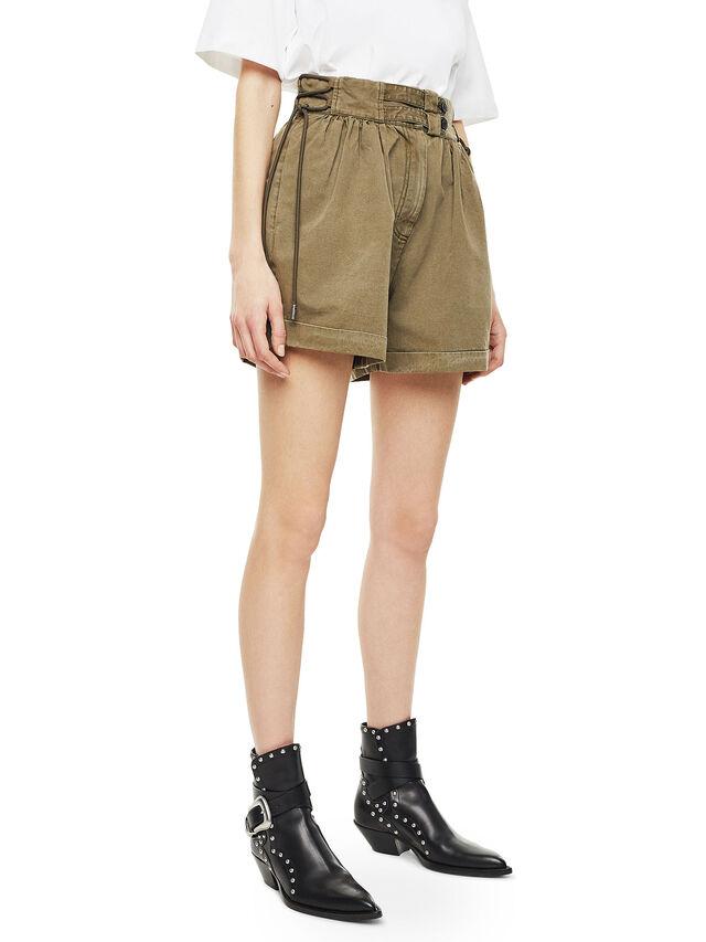 Diesel - SIMONY, Verde Militare - Shorts - Image 5