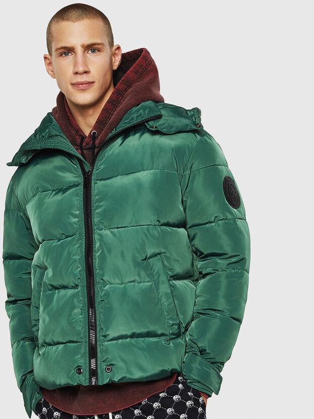 W-SMITH-YA-WH, Verde Scuro - Giacche invernali