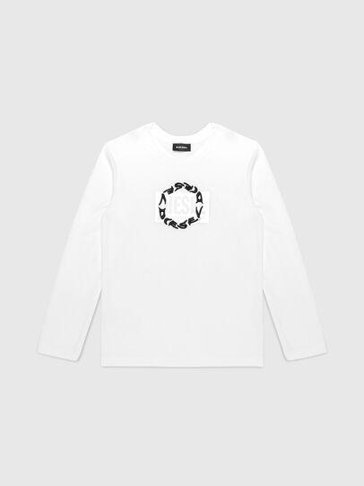 Diesel - TSILYRSUC ML, Bianco - T-shirts e Tops - Image 1