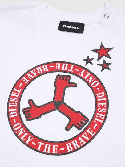 Diesel - TARTB, Bianco - T-shirts e Tops - Image 3
