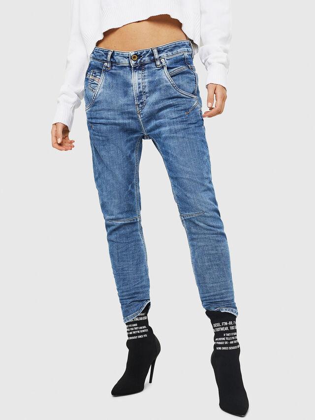 Diesel - Fayza JoggJeans 0870K, Blu Chiaro - Jeans - Image 1
