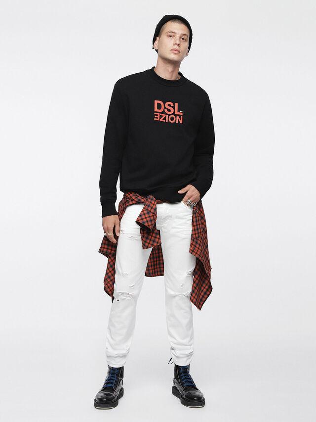Diesel - Buster 0680K, Bianco - Jeans - Image 4