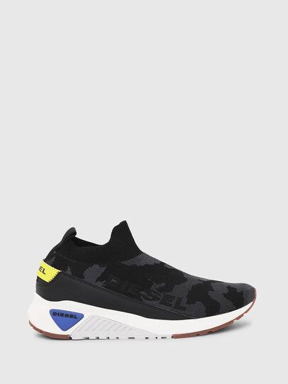 Diesel - S-KB SOCK QB, Nero - Sneakers - Image 1