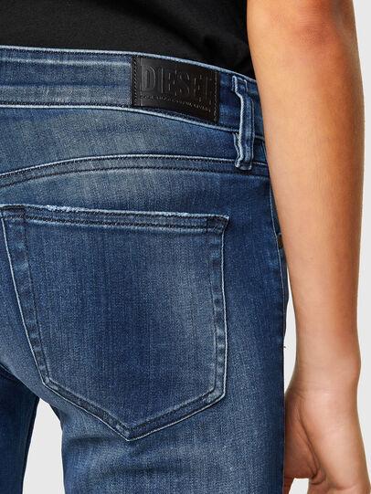 Diesel - Slandy Low 009FE, Blu Scuro - Jeans - Image 5