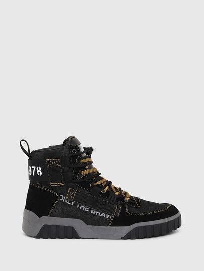 Diesel - S-RUA MID SP, Nero - Sneakers - Image 1