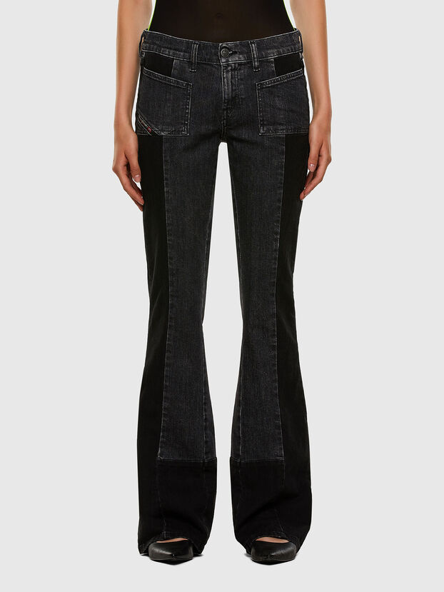 D-Ebbey 009IM, Nero/Grigio scuro - Jeans