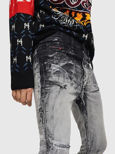 Diesel - D-Reeft JoggJeans 084AH, Nero/Grigio scuro - Jeans - Image 3