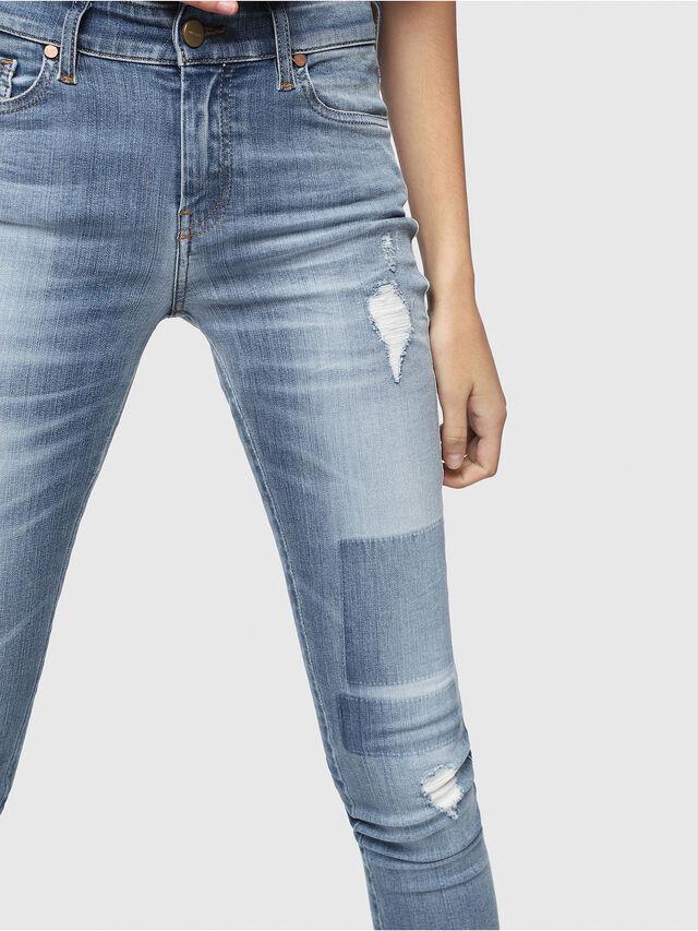 Diesel - Slandy 086AH, Blu Chiaro - Jeans - Image 3