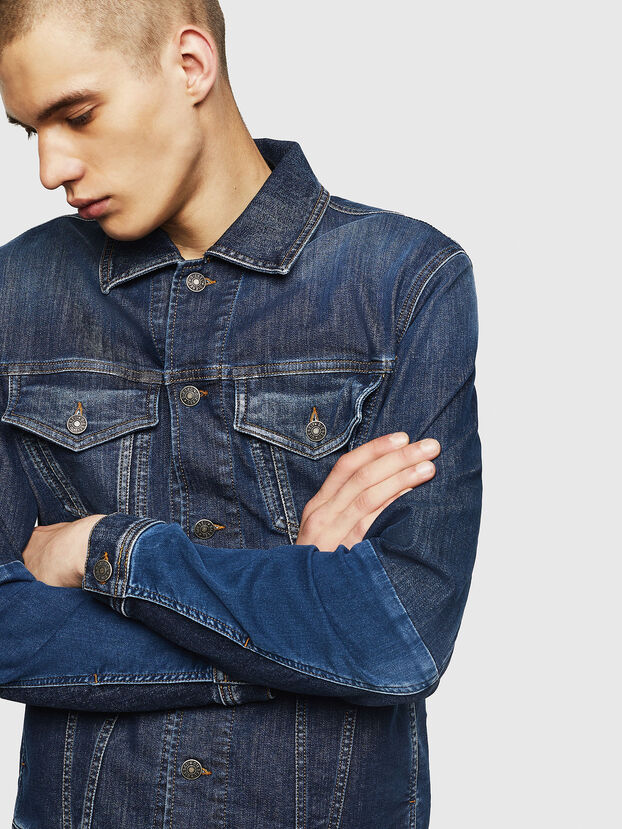 D-NHILL-SP JOGGJEANS,  - Giacche in denim
