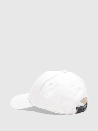 Diesel - CORRY-GUM, Bianco - Cappelli - Image 2