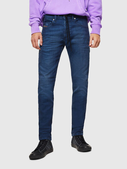 Diesel - Thommer JoggJeans 0098H, Blu medio - Jeans - Image 1