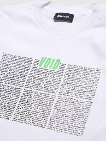 Diesel - TJUSTLS-NEW, Bianco - T-shirts e Tops - Image 3