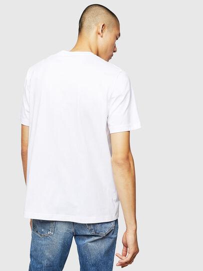 Diesel - T-JUST-B1, Bianco - T-Shirts - Image 2