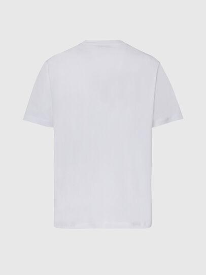 Diesel - T-JUST-X65, Bianco - T-Shirts - Image 2