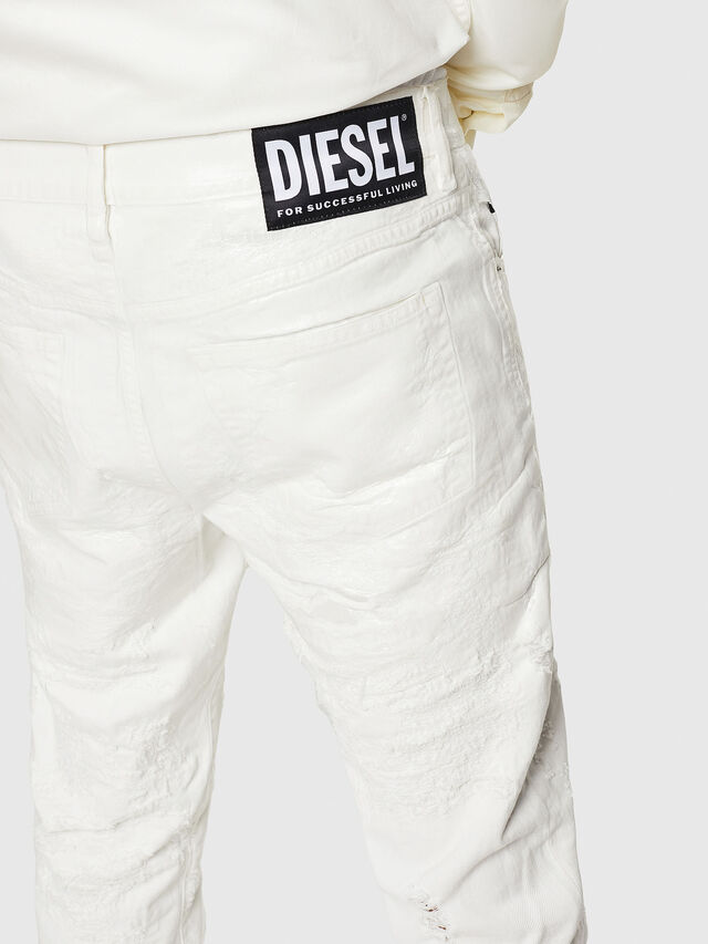 Diesel - Mharky 069GY, Bianco - Jeans - Image 5