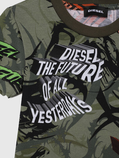 Diesel - TESEOB-R, Verde Militare - T-shirts e Tops - Image 3