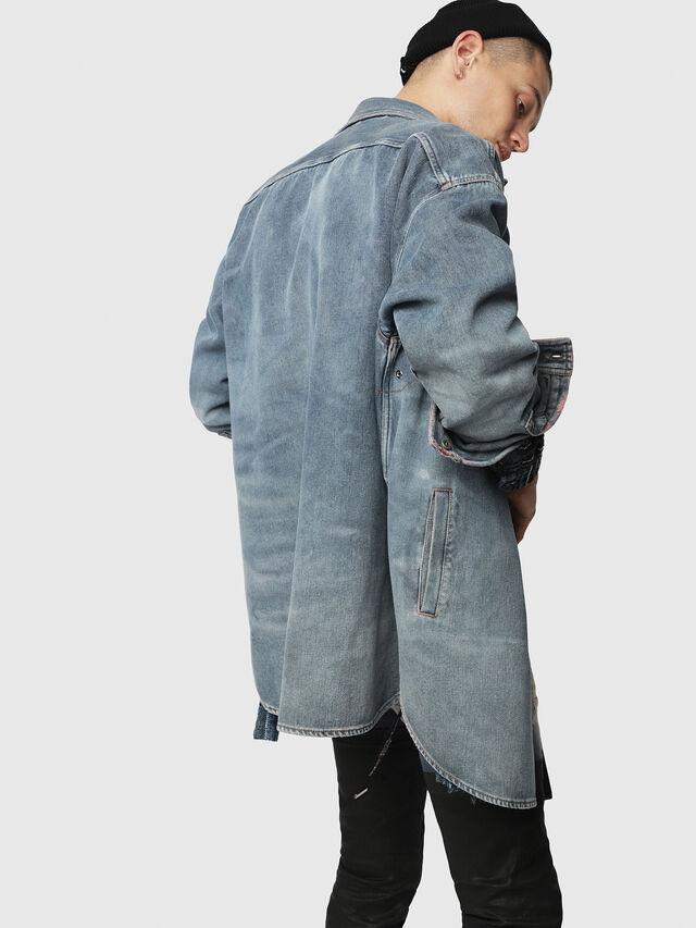 Diesel - D-LOREN, Blu Jeans - Giacche in denim - Image 2