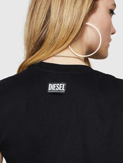 Diesel - D-DASHA, Nero - Vestiti - Image 5