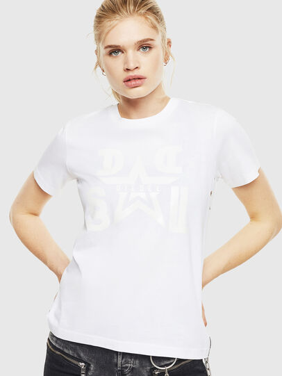 Diesel - T-SILY-WMA, Bianco - T-Shirts - Image 1